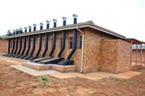 Ablution facilties at Saselamani Primary School