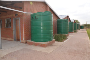 Water Tanks fitted at Khulani Special School